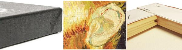 Impression sur toile carrée 1:1